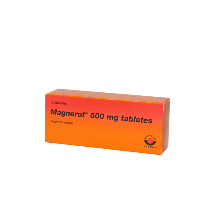 MAGNEROT tabletes N50